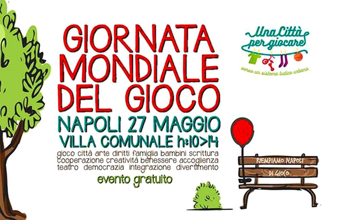 Giornata mondiale del gioco a Napoli