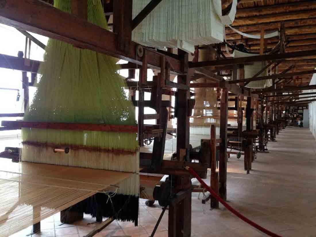 Belvedere di San Leucio Produzione della seta