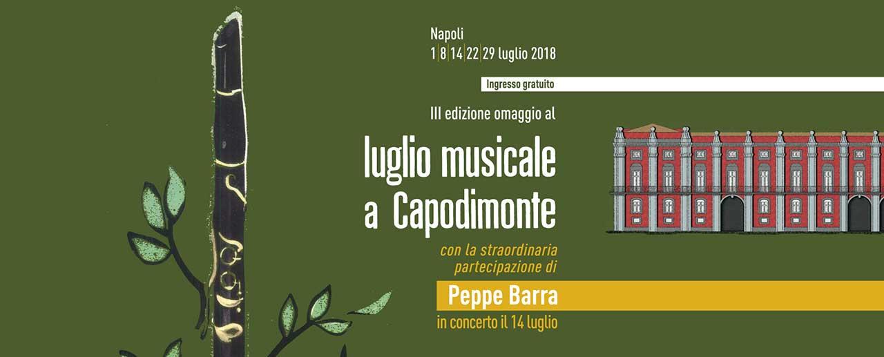 Capodimonte luglio musicale 2018
