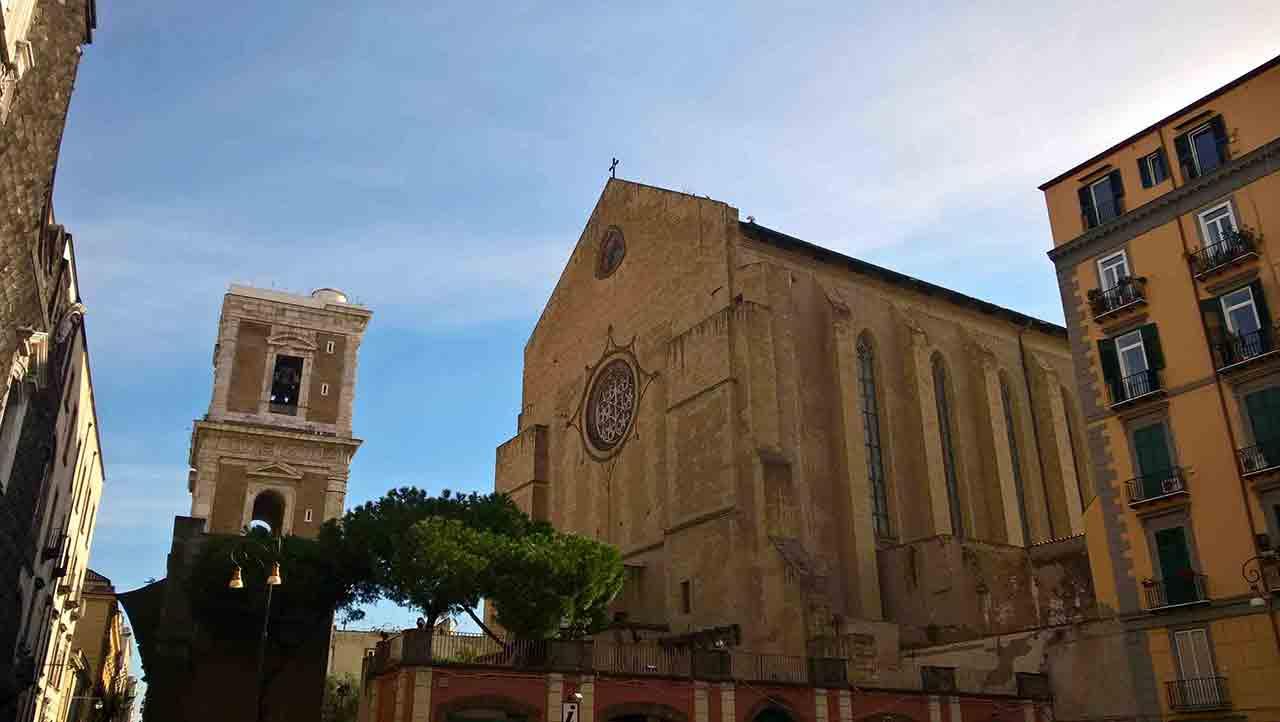 Giotto al Monastero di Santa Chiara Napoli