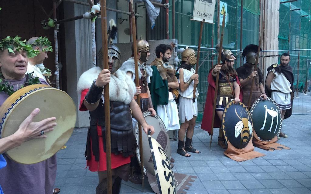 La Lampadoforia 2018, rievocazione storica in costume d'epoca