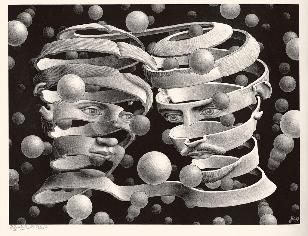 Maurits Cornelis Escher Vincolo d'unione
