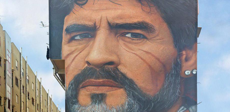 Murales Maradona Napoli, Jorit Agoch