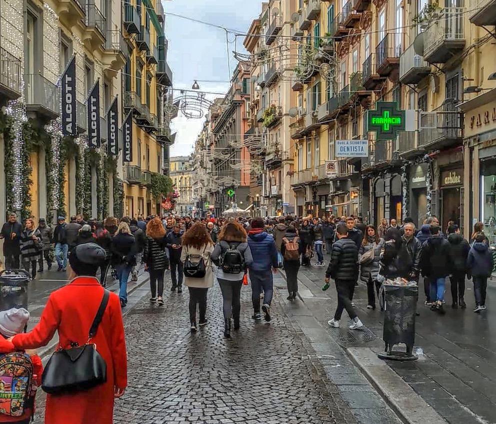 Black Days Via Toledo Napoli
