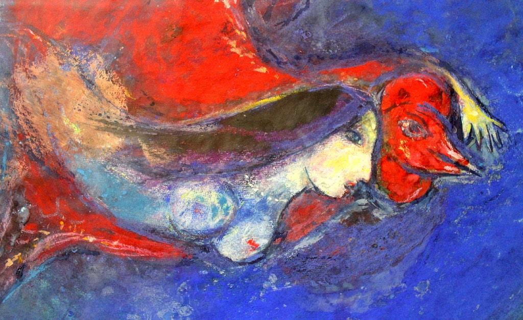 Chagall in mostra alla chiesa di Pietrasata Napoli