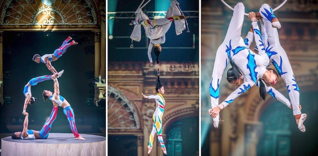 Circo Nazionale Cubano, Edenlandia di Napoli