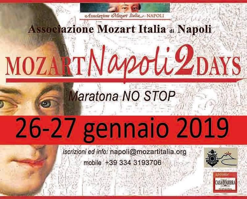 Mozart Napoli 2 days 2019