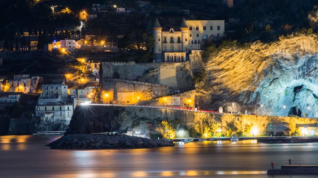 Maiori di Notte, Foto di Agostino Crisucolo