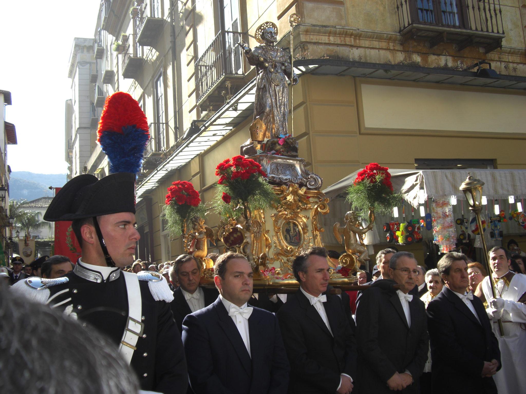 Sorrento processione Sant'Antonino