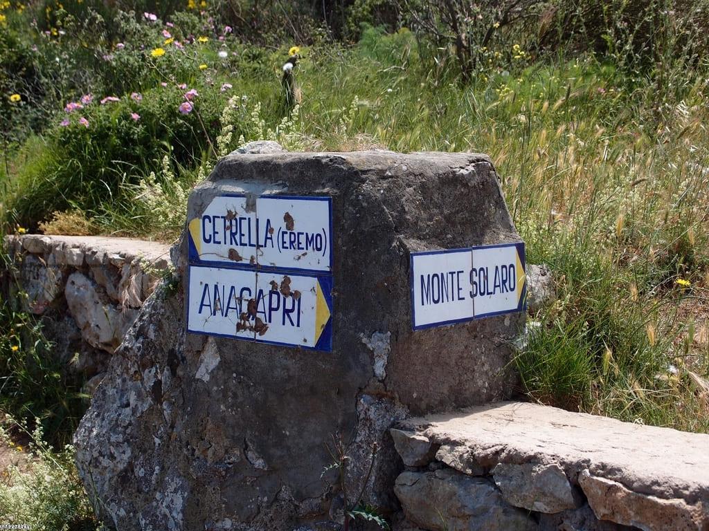 Monte Solaro Cetrella - Capri