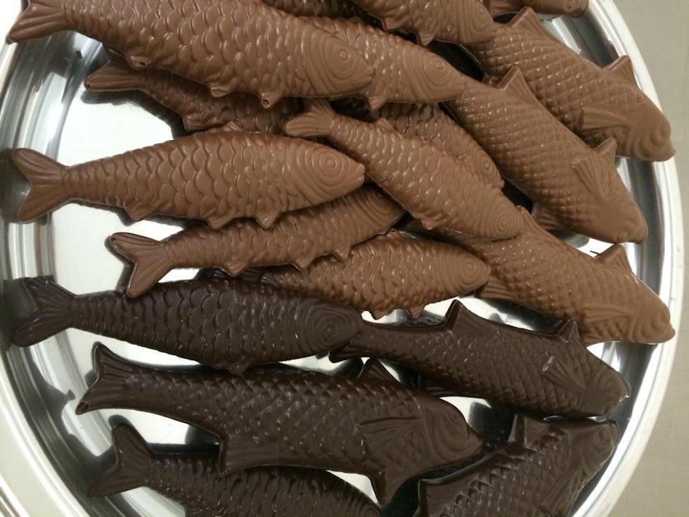 Pesce d'Aprile al cioccolato