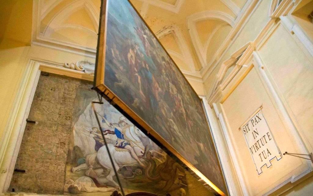 San Giorgio Maggiore Napoli, Aniello Falcone