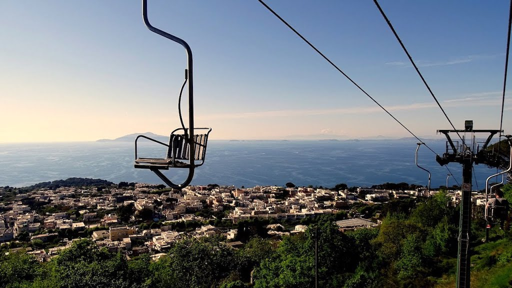 Seggiovia Monte Solaro, Capri