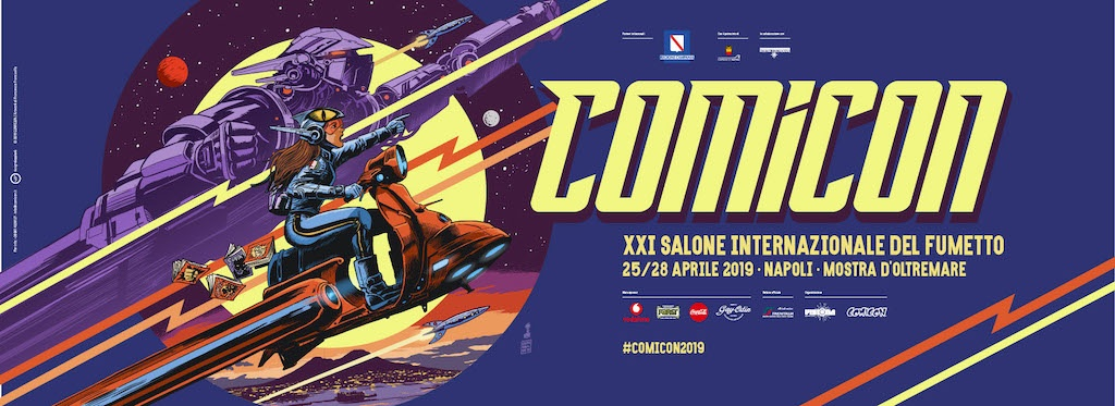 Comicon 2019, il manifesto