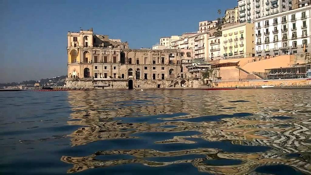 Batò Naples, Napoli vista dal mare