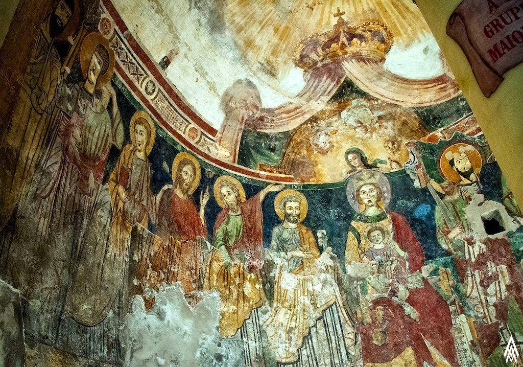 Santa Maria del Pozzo, abside della cripta