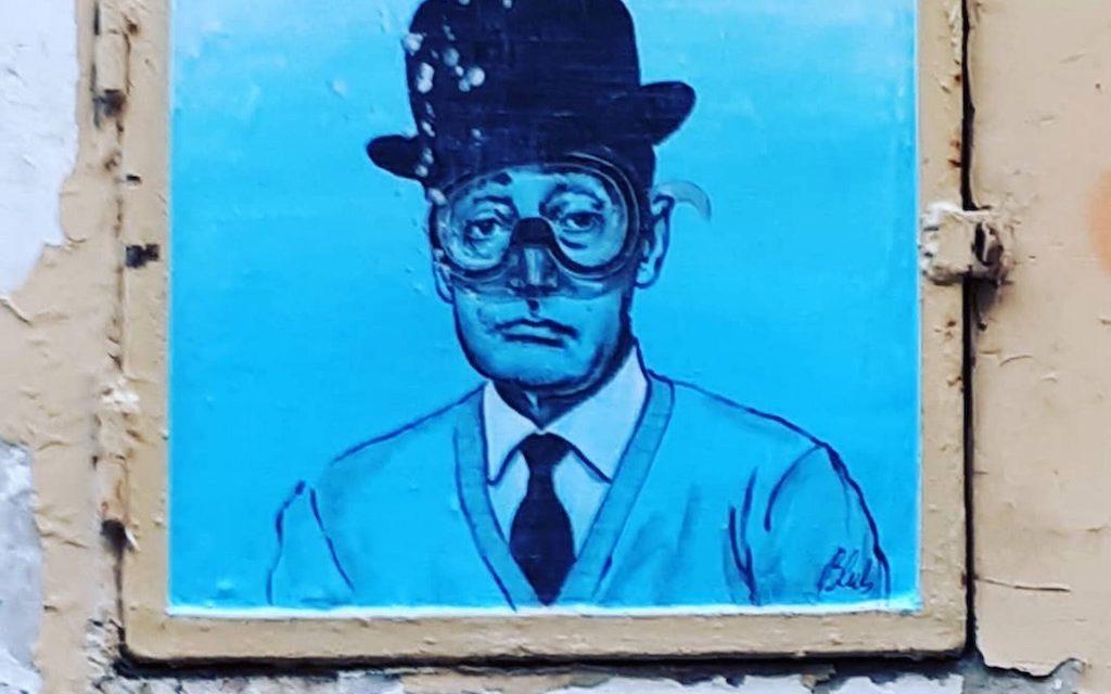 Le opere dello street artist Blub arrivano a Napoli