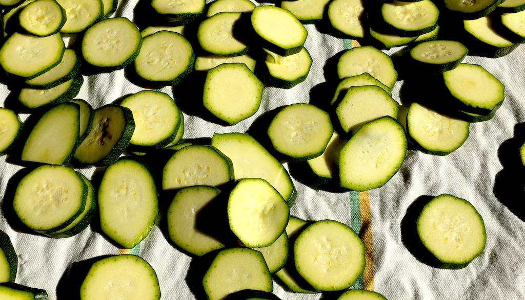 Zucchine alla scapece, preparazione