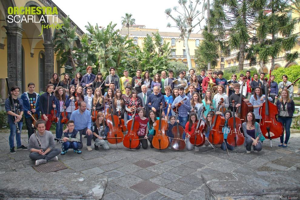 Orto Sonoro» con l'Orchestra Scarlatti Junior