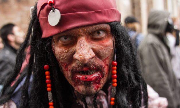 Parata degli zombie di Napoli, anteprima dell'Horror Festival 2019