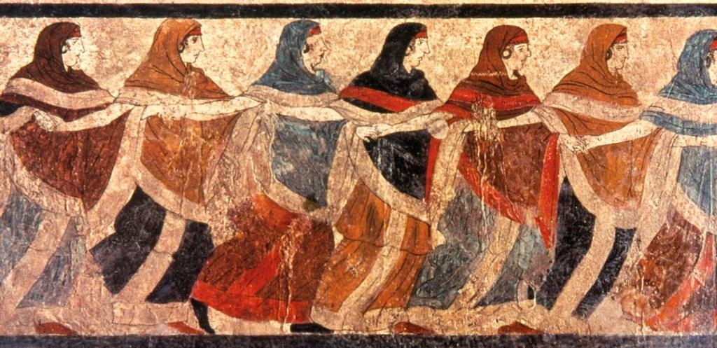 Danzatrici di Ruvo, Museo Archeologico di Napoli