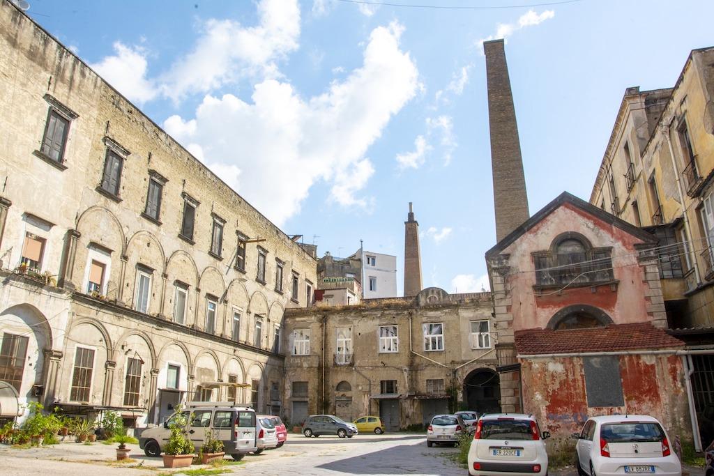 Ex Lanificio Napoli - Cortile