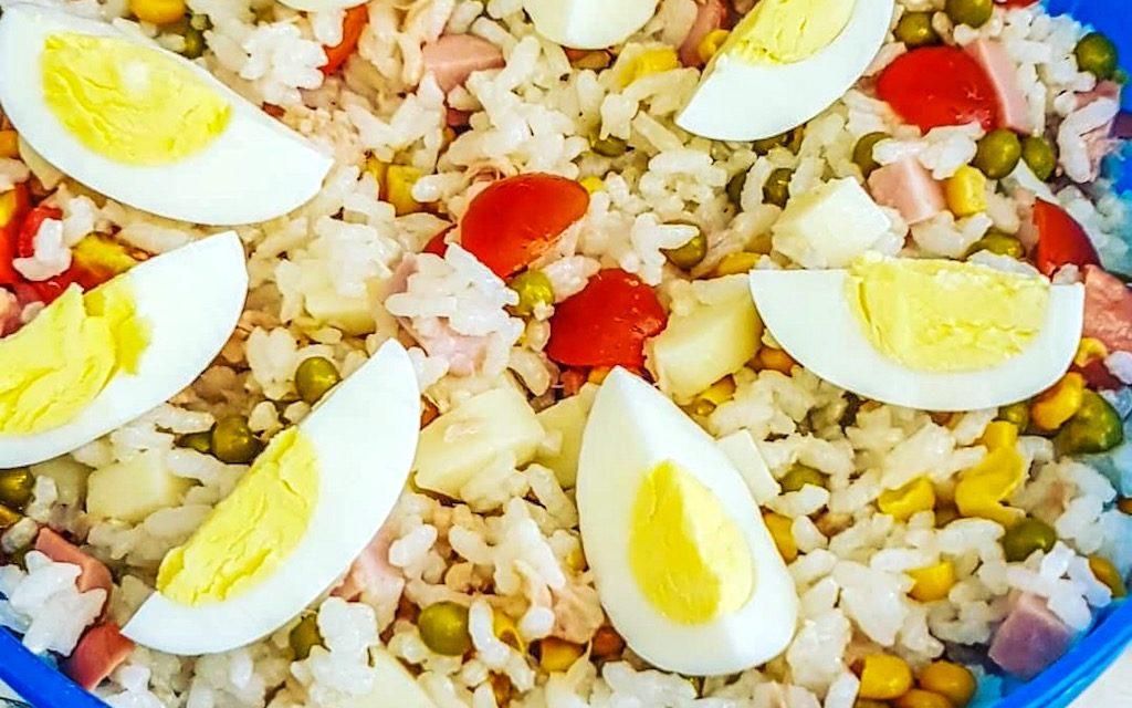 Insalata di riso alla napoletana, un fresco peccato di gola