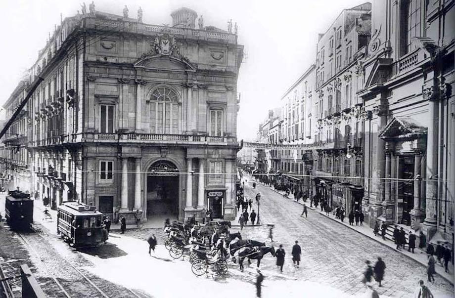 Palazzo Doria D'Angri anni 20
