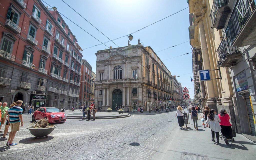 Palazzo Doria D'Angri a Napoli, qui Garibaldi proclamò l'unità d'Italia