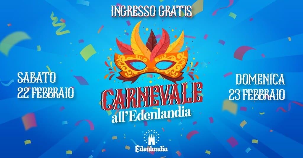 Carnevale 2020 Edenlandia Napoli