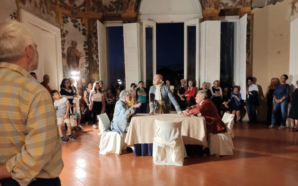 La Zarina e Il Lazzarone a Villa Campolieto