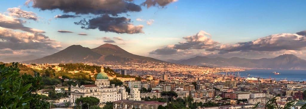 Napoli la citta di Parthenope