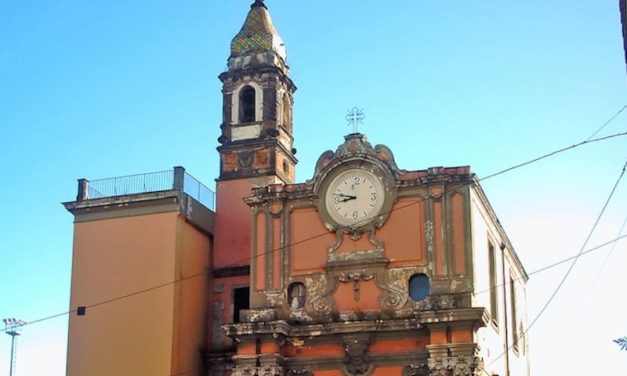 Santa Maria di Portosalvo di Napoli, una chiesa sullo spartitraffico