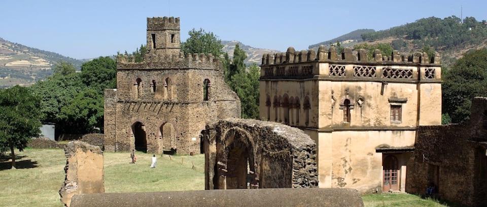 Gondar Capitale dell'antico regno di Abissinia (Etiopia)