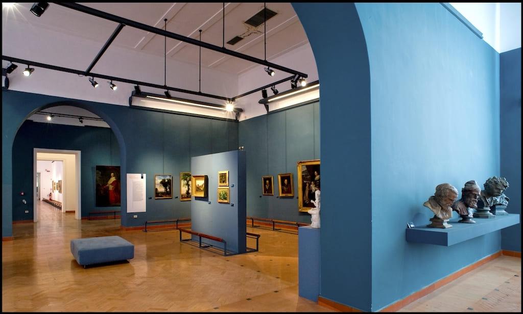 Accademia delle Belle Arti di Napoli Sala-dell800