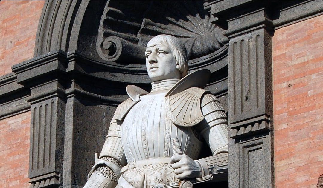 Alfonso d'Aragona, detto il Magnanimo, conquista Napoli