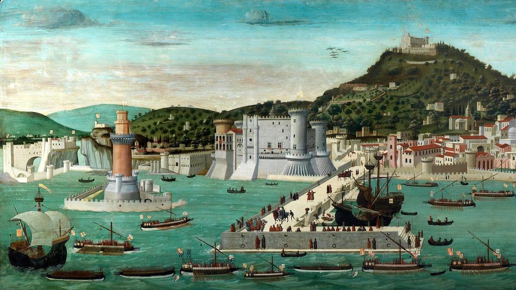 Tavola Strozzi Napoli, dettaglio