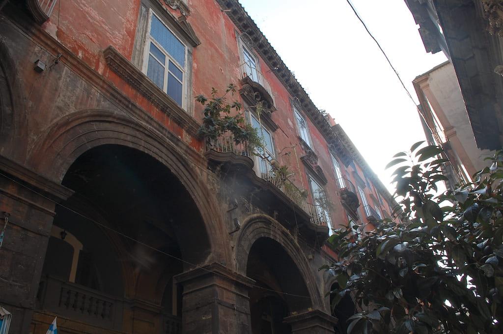 Palazzo d'Angio - via dei Tribunali Napoli