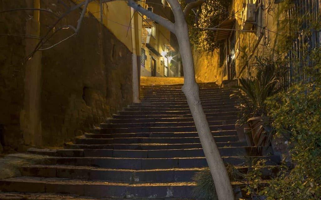 Vertebre di Lava, le scale di Napoli in mostra al PAN