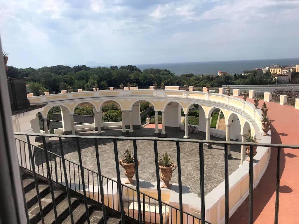 Villa Campolieto, Miglio d'Oro