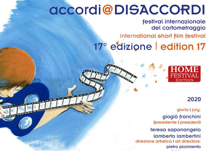 Accordi@Disaccordi 2020, il Festival del Cortometraggio tutto online