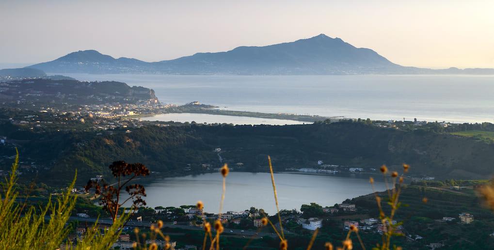 I laghi dei Campi Flegrei: Fusaro, Lucrino, Miseno, d'Averno