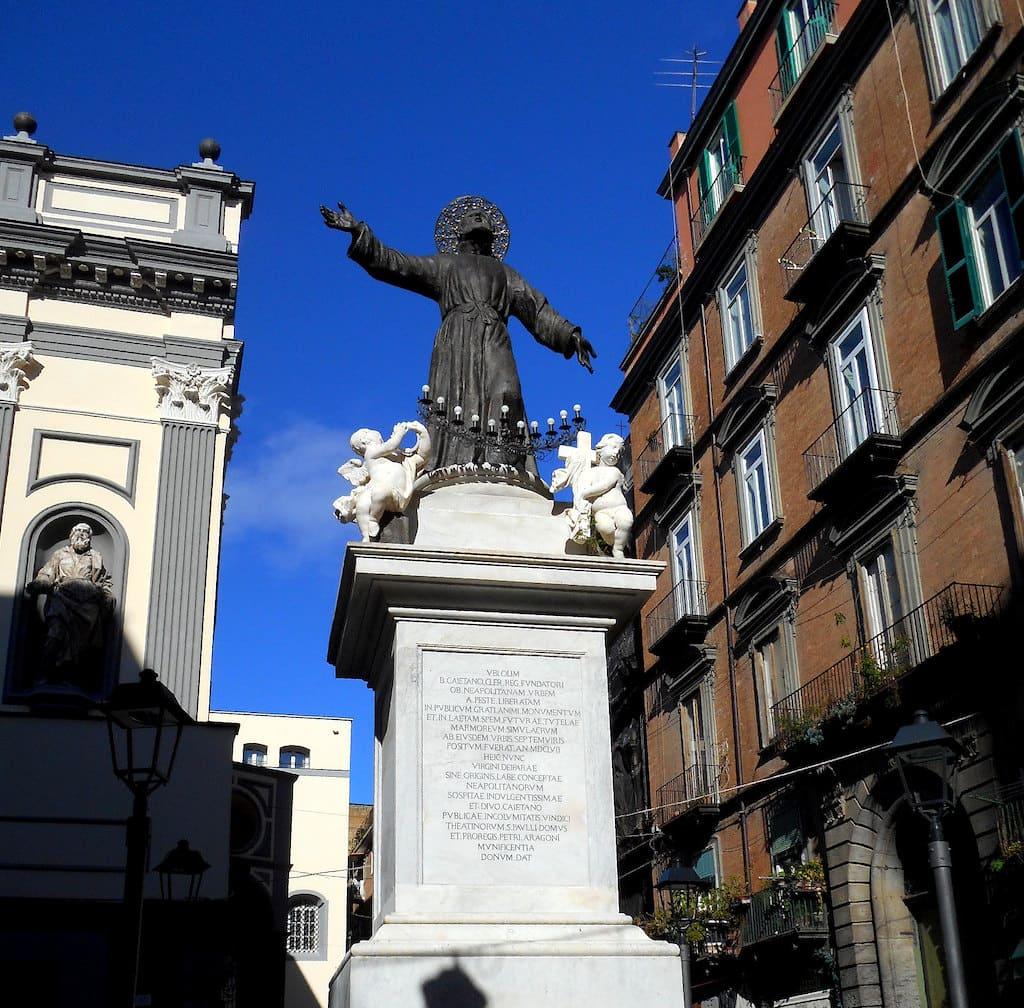 Statua di San Gaetano thiene_Ph Carlo Raso