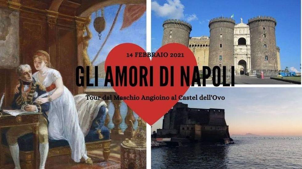 Gli Amori di Napoli – Tour dal Maschio Angioino al Castel Dell'Ovo