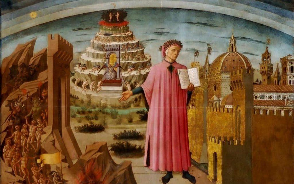 Il Parco Borbonico del Fusaro omaggia Dante Alighieri