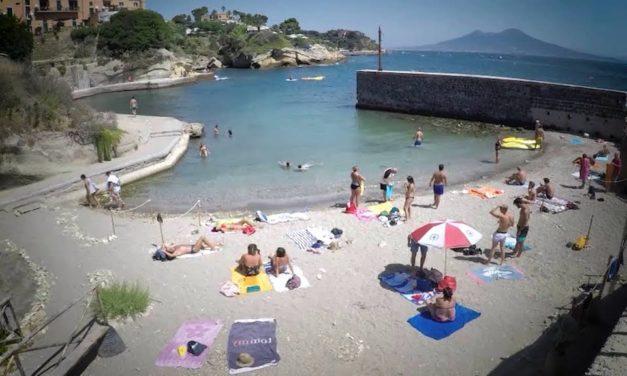 Napoli, riapre la spiaggia libera de parco Sommerso di Gaiola