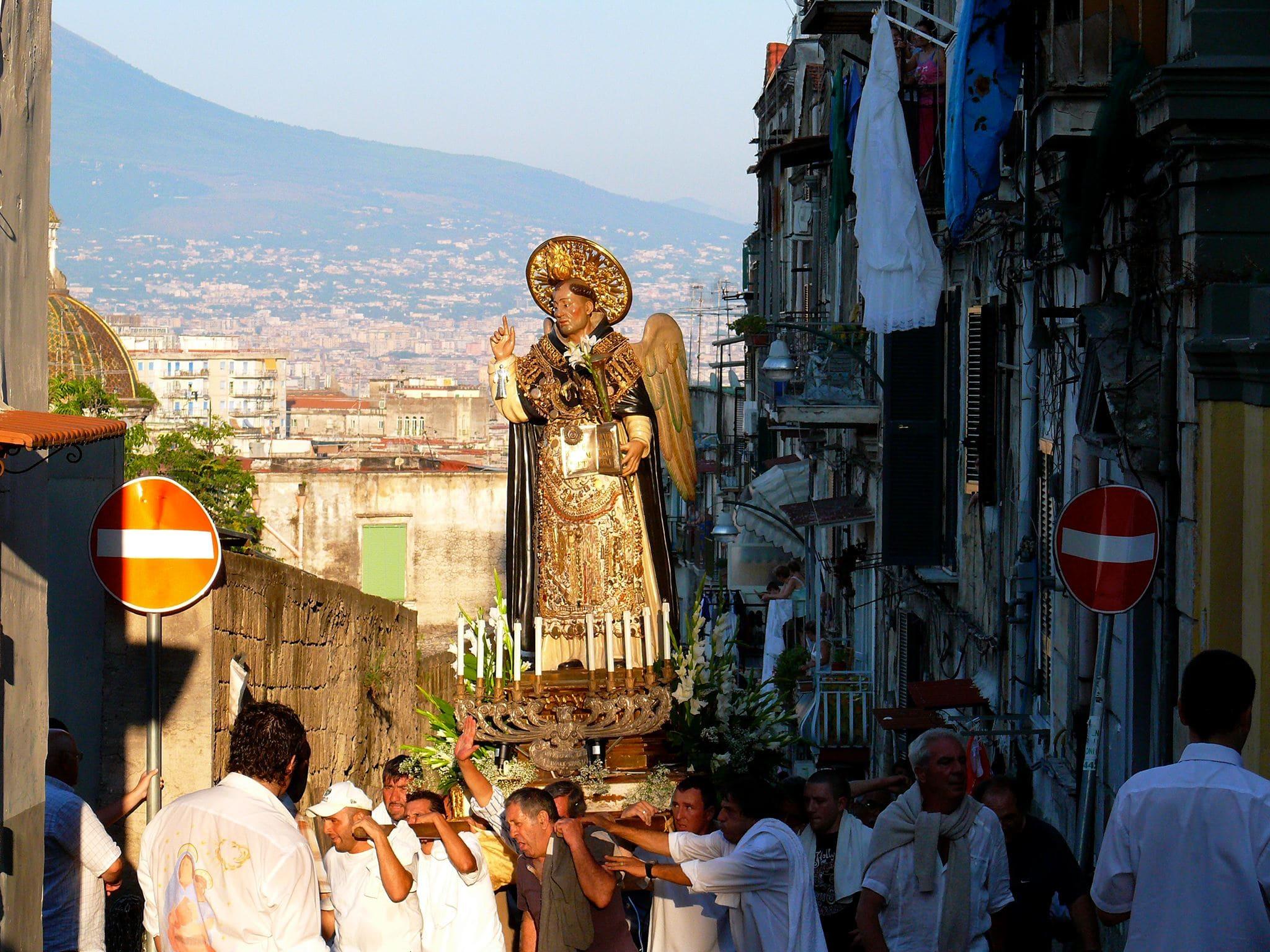 Processione San Vincenzo Ferrer Napoli