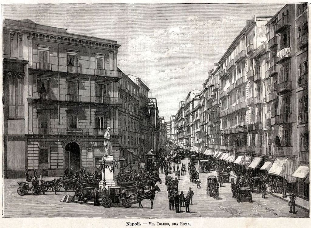 Via Toledo Napoli, Cartolina